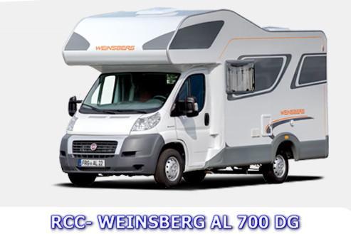 rhuys camping car weinsberg al 700 dg. Black Bedroom Furniture Sets. Home Design Ideas